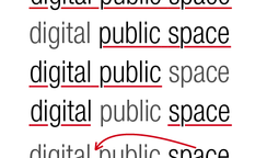 Reading Digital Public Space